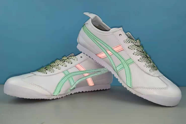 MEXICO 66 3M Reflective Lace (White/ Green/ Red) Shoes