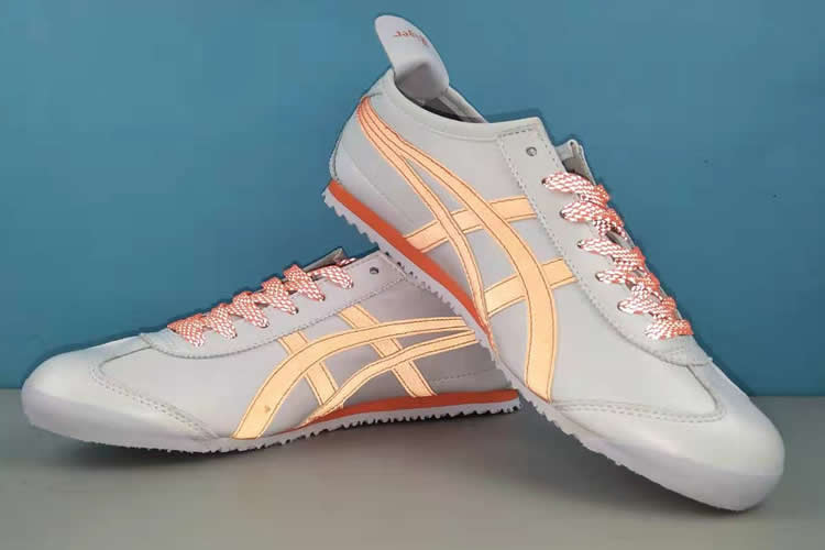 MEXICO 66 3M Reflective Lace (White/ Orange) Shoes