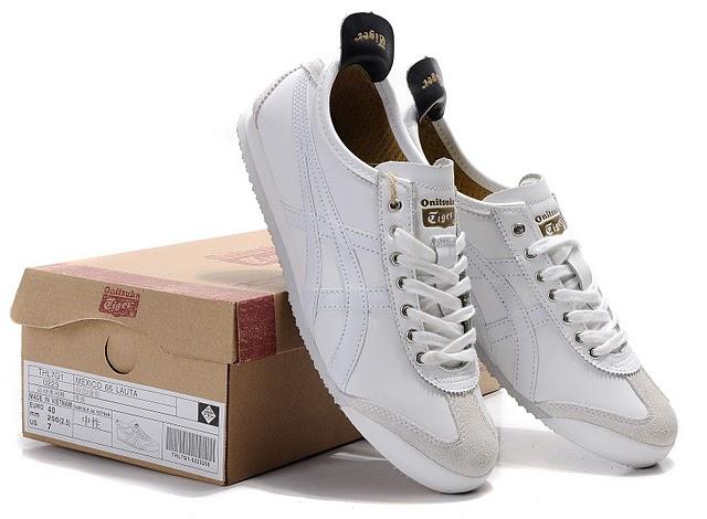 newest 8c1ae 74d7d Mens Onitsuka Tiger Mexico 66 White Black LAUTA Shoes ...