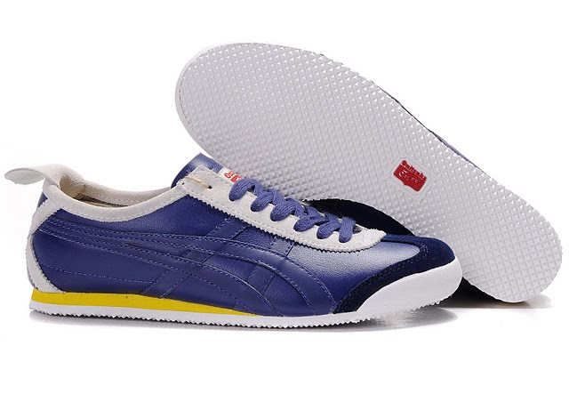 Men's Onitsuka Tiger Mexico 66 LAUTA Shoes (Purple/ White/ Yellow)