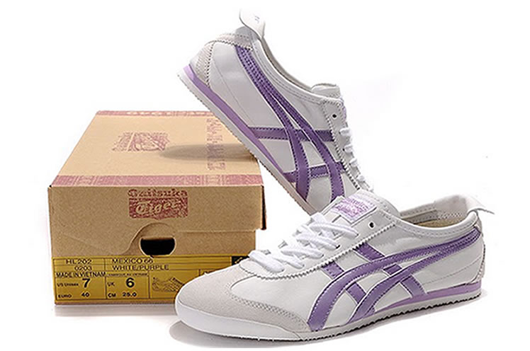 Asics Onitsuka Tiger Mexico 66 Womens Shoes Beige Brown Gold