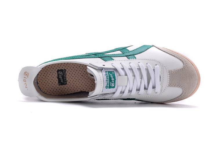 (White/ Green) Onitsuka Tiger Mexico 66 Shoes