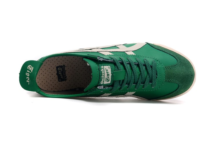 Onitsuka Tiger (Green/ Beige/ Black) Mexico 66 Shoes