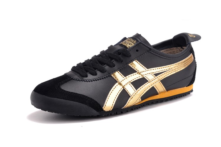 asics tiger shoes black
