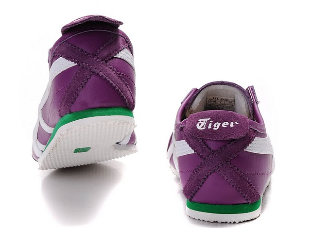 (Purple/ White/ Green) Onitsuka Tiger Mexico 66 Shoes