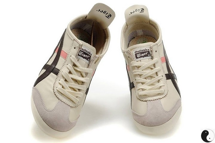 (Beige/ Brown/ Pink) Onitsuka Tiger Mexico 66 Shoes
