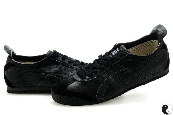 ASICS Onitsuka Tiger Mexico 66 Sport Shoes (All Black)