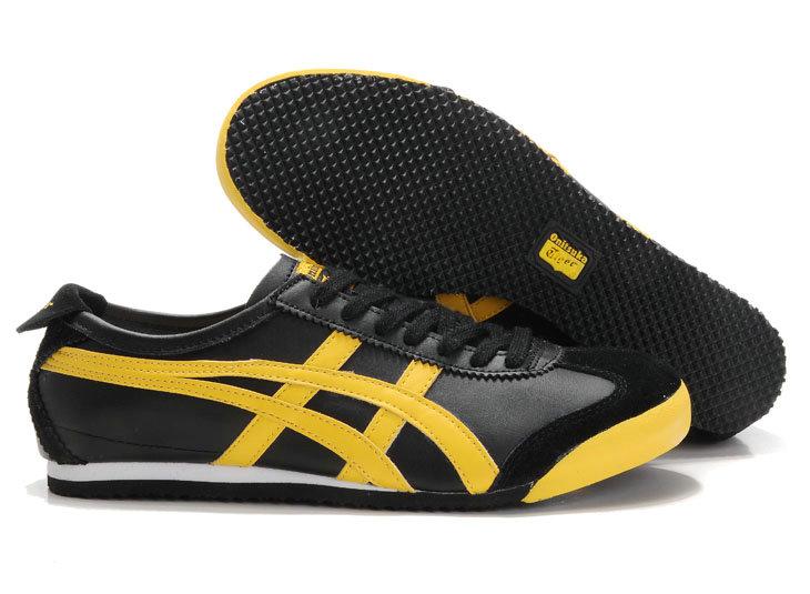 asics tiger yellow