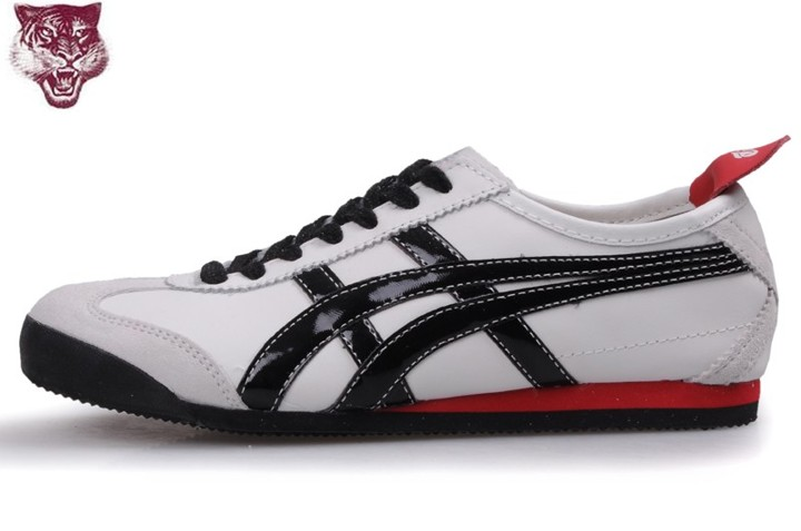 Mens (White/ Black/ Red) Mexico 66 Shoes