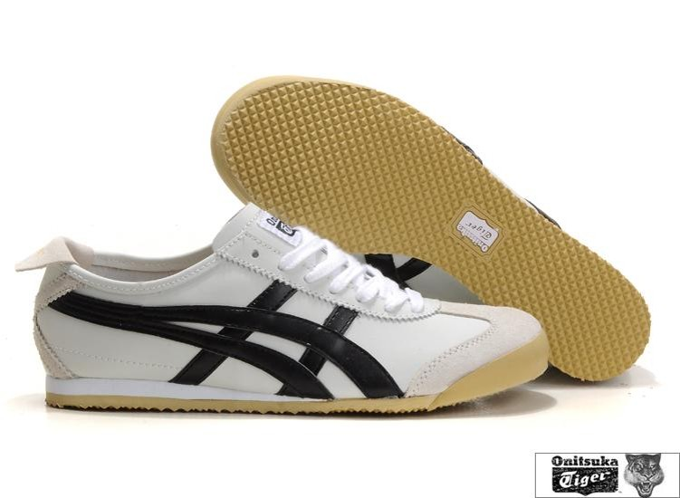asics onitsuka tiger mexico 66 white/black