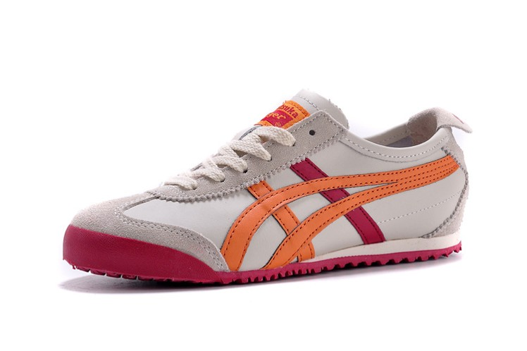 (Beige/ Orange/ Rose) Onitsuka Tiger Mexico 66 Shoes