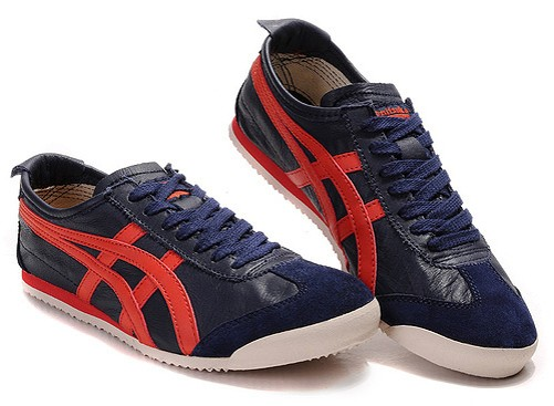 Onitsuka Tiger Mexico 66 Men Shoes (Purple/ Red/ White)