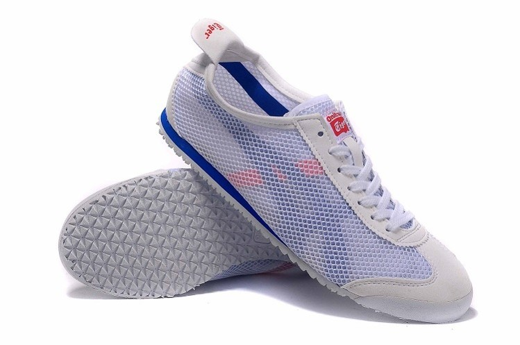detailed look 9d818 ee54d Onitsuka Tiger Mexico 66 D508N White Blue Shoes [D508N-0144 ...