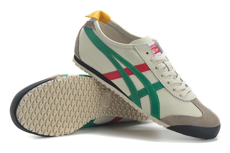 bee143a149faa2 ... (beige green red) onitsuka tiger mexico 66 shoes