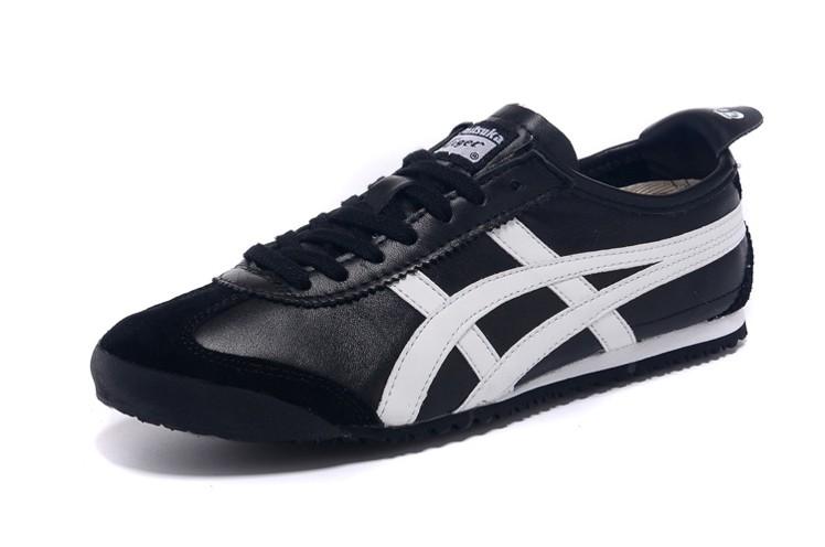 (Black/ White) Onitsuka Tiger Mexico 66 DL408-9001 Shoes
