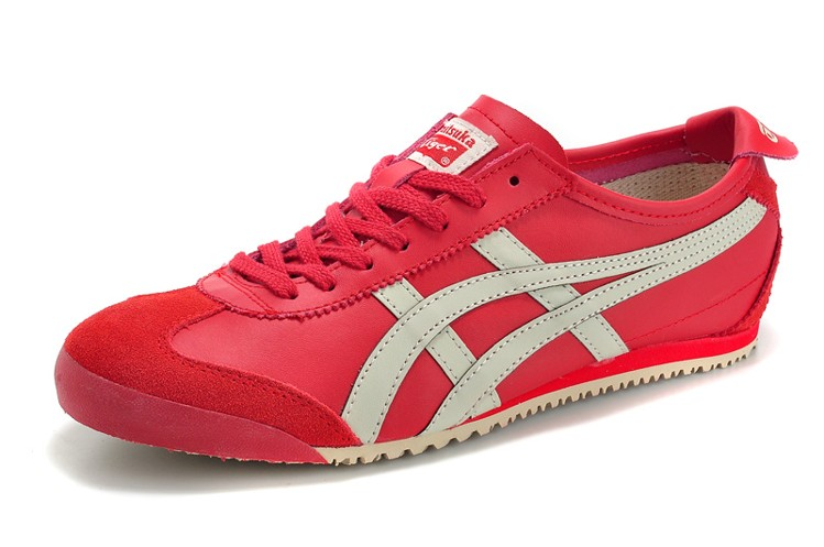 (Red/ Beige) Onitsuka Tiger Mexico 66 New Shoes