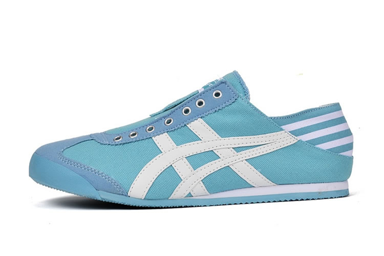 onitsuka tiger mexico 66 sd smoke light blue knitting