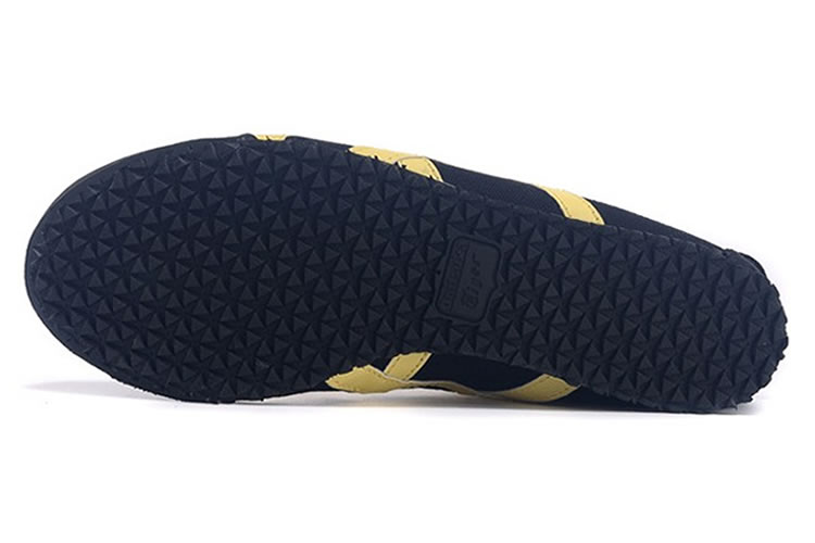 (Black/ Yellow) Onitsuka Tiger Mexico 66 Paraty Shoes