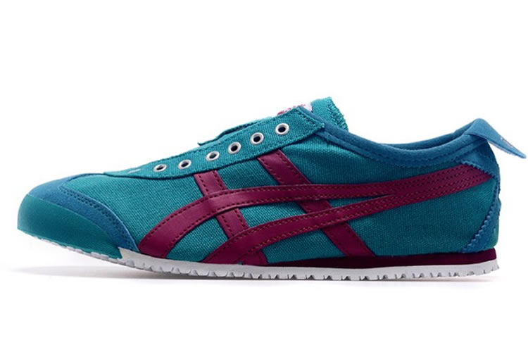 (DK Blue/ Purple) Onitsuka Tiger Mexico 66 Slip On Shoes