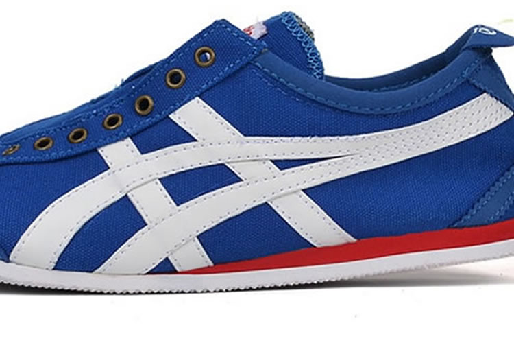(Blue/ White/ Red) Onitsuka Tiger Mexico 66 Paraty Shoes