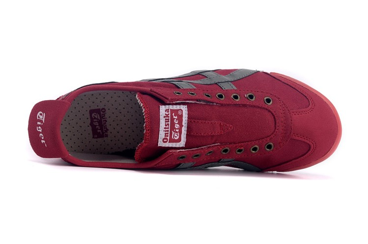(Red/ Grey) Onitsuka Tiger Mexico 66 Paraty Shoes