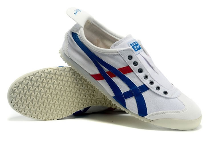 (White/ Blue/ Red) Onitsuka Tiger Mexico 66 Paraty Shoes
