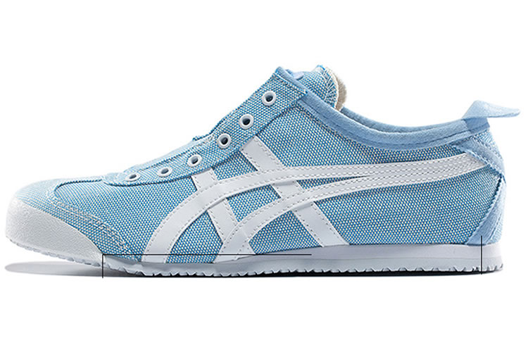 (Light Blue/ White) Onitsuka Tiger Slip On Women Shoes