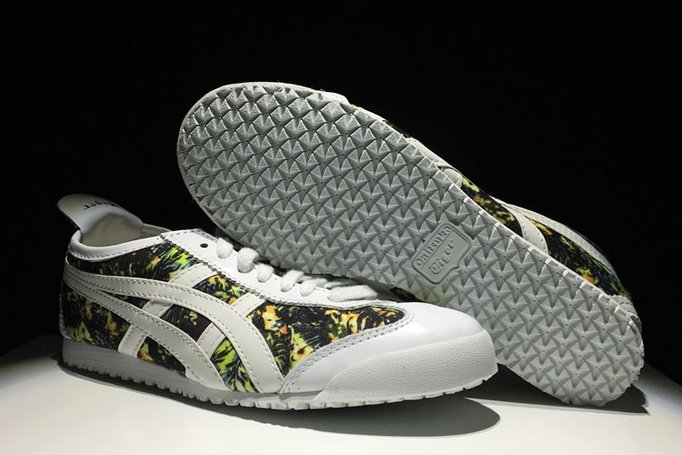 (White/ Camouflage) Onitsuka Tiger Mexico 66 Paraty Shoes