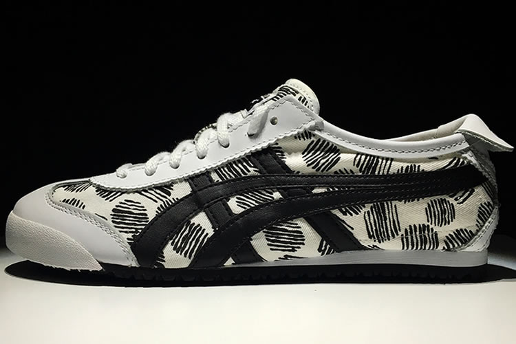 (White/ Black) Onitsuka Tiger Mexico 66 Paraty Shoes