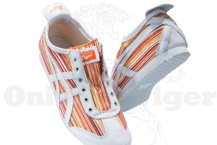 (Orange/ White) Onitsuka Tiger Mexico 66 Paraty Shoes