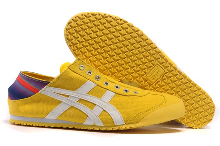 (Yellow/ White) Onitsuka Tiger Mexico 66 Paraty Shoes