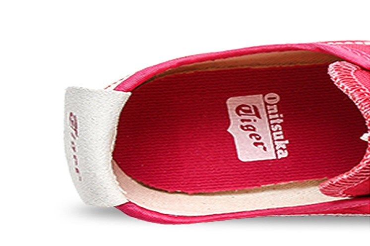 Onitsuka Tiger Mexico 66 Slip On Red Shoes
