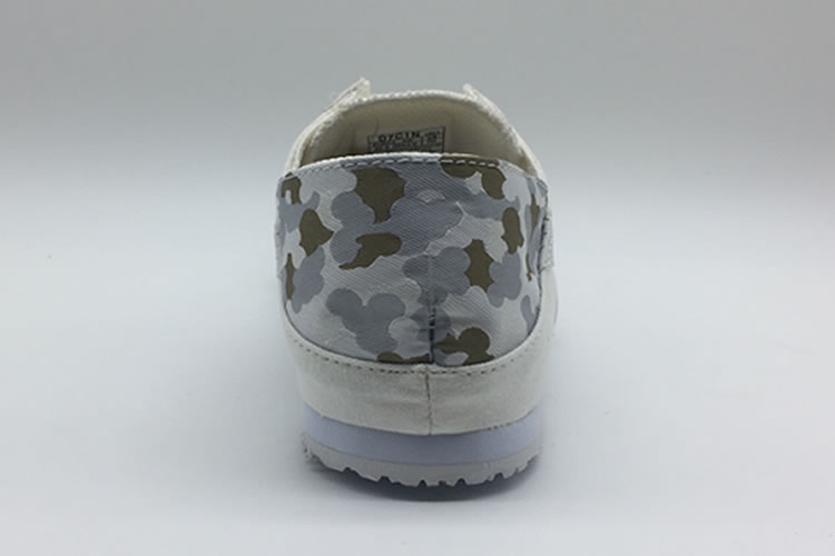 New Onitsuka Tiger (White/ Army) Slip On Shoes