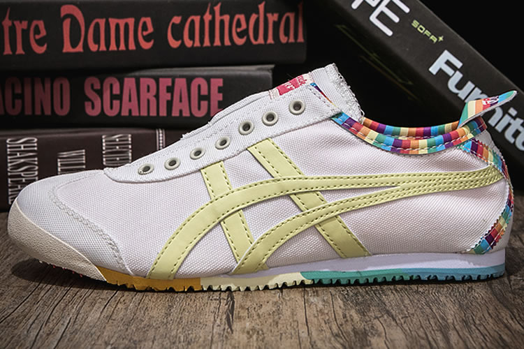 Onitsuka Tiger Paraty Rainbow Canvas Shoes
