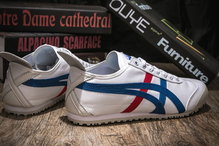 (White/ Blue/ Red) Onitsuka Tiger Canvas Shoes