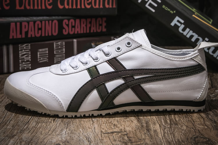 (White/ Chameloen) Onitsuka Tiger Canvas Shoes