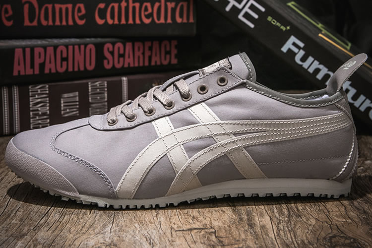 (Grey/ Beige) Onitsuka Tiger Canvas Shoes