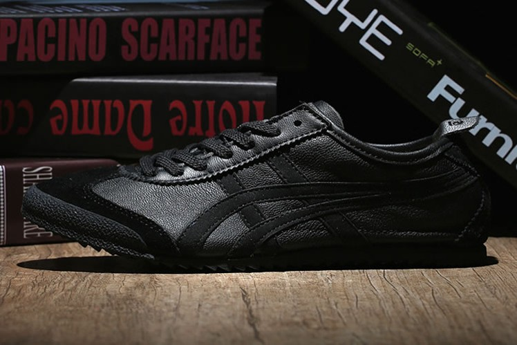 (Black/ Black) Onitsuka Tiger Mexico 66 Nippon Made Shoes