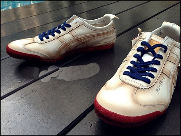 Army Beige Onitsuka Tiger Deluxe Nippon Made Shoes