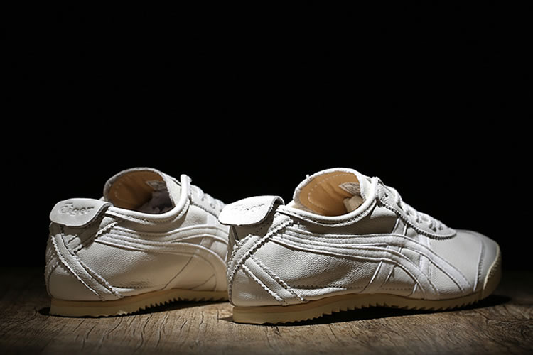 (All White) New Onitsuka Tiger Deluxe Nippon Made Shoes - Click Image to Close