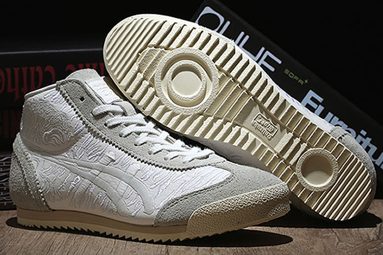 Onitsuka Tiger Deluxe TH6S1K-0101 Mid Runner Noctilucence Shoes