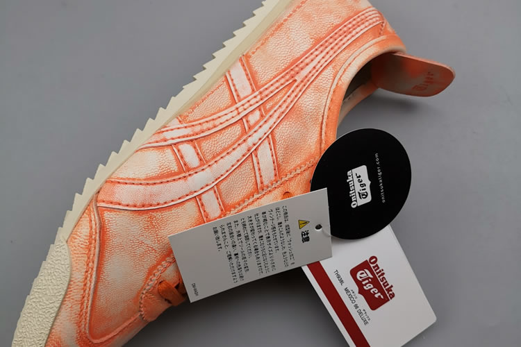 Onitsuka Tiger Mexico 66 DELUXE 1181A066 Orange Shoes