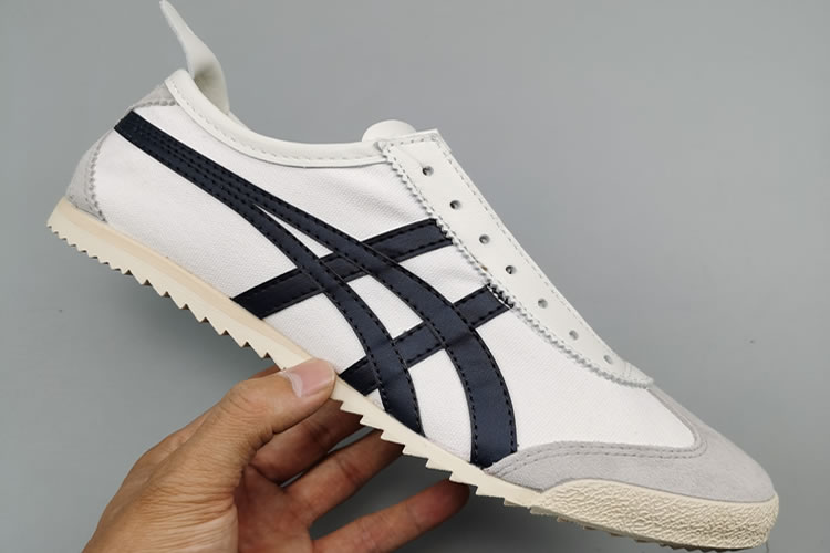 (White/ Black) Onitsuka Tiger Mexico 66 Deluxe Shoes