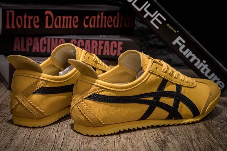 Onitsuka Tiger Mexico 66 Deluxe (Yellow/ Black) Shoes