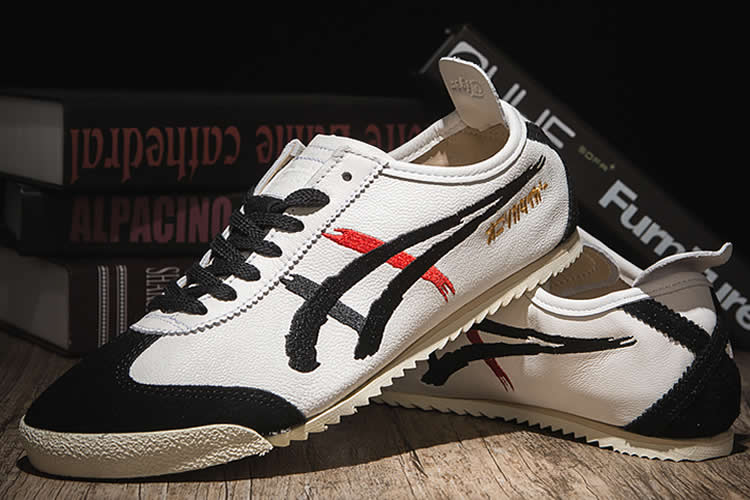 "Onitsuka Tiger Mexico 66 Deluxe ""Kabuki Villain"" Nippon Made Shoes - Click Image to Close"