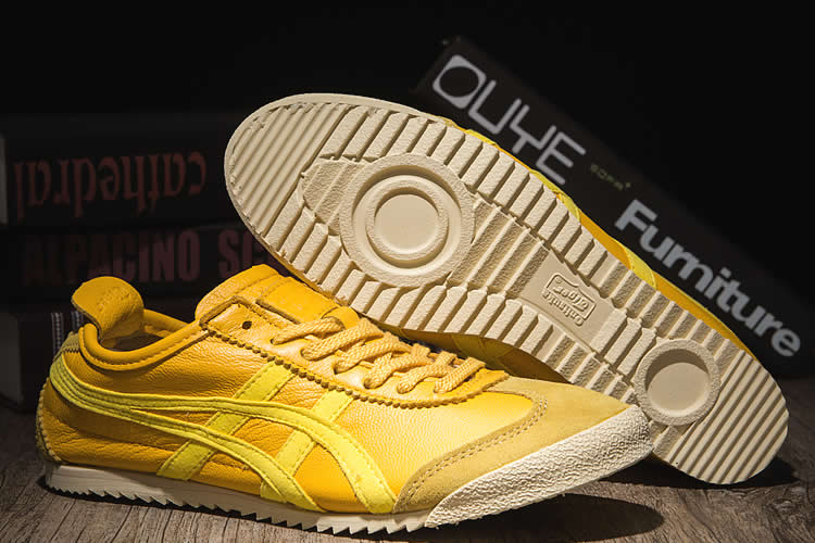Onitsuka Tiger Mexico 66 NIPPON MADE Yellow Shoes