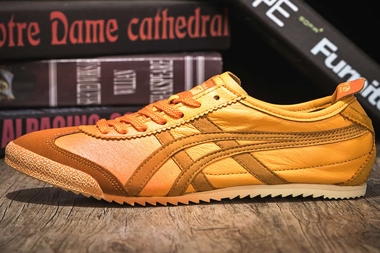 Orange Onitsuka Tiger Mexico 66 Deluxe Shoes
