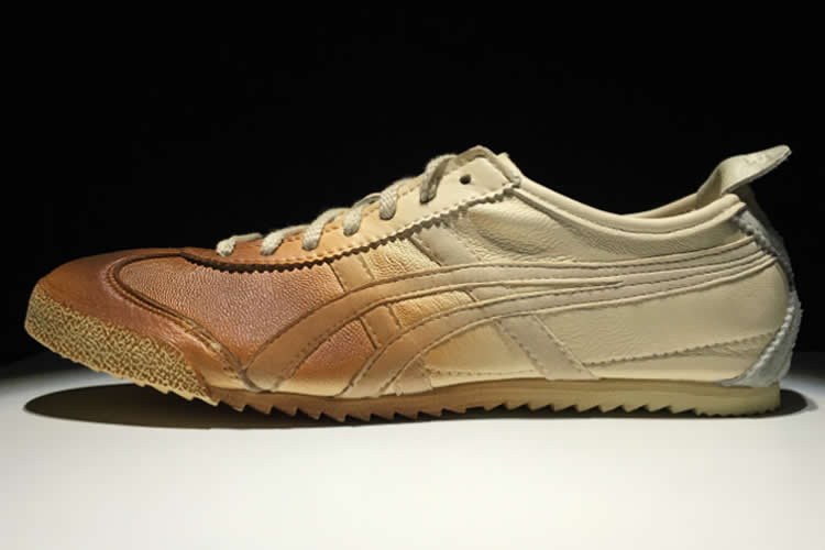 Onitsuka Tiger DELUXE (Beige/ Orange) Women Shoes
