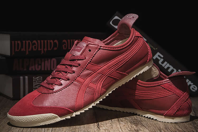 (Tomato Red) Onitsuka Tiger Mexico 66 DELUXE Shoes