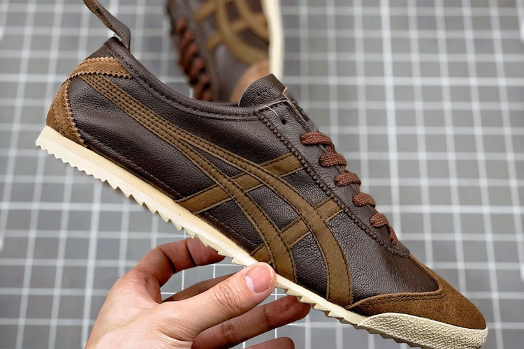 Chocolate Onitsuka Tiger Mexico 66 Deluxe Shoes